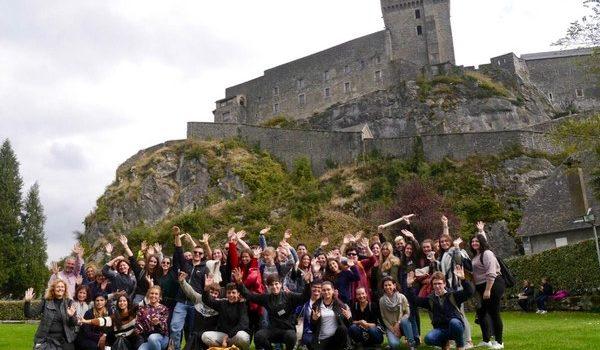 August-Horch-Schüler mit Erasmus+ in Südfrankreich unterwegs