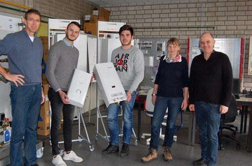 Junkers Bosch spendet erneut Geräte für Ausbildung