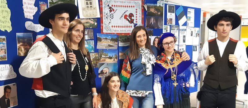 Erasmus+ – Projekt: Fünf Partnerschulen besuchen August-Horch-Schule