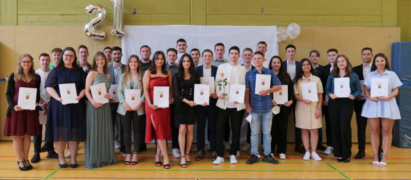 Abiturienten der August-Horch-Schule können nun feiern