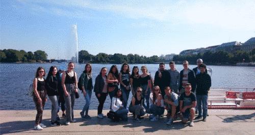 HBFOM16A auf Bildungsfahrt in Hamburg