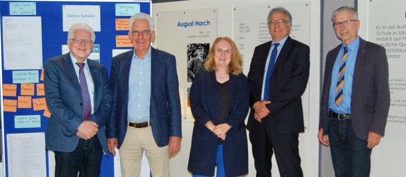 August-Horch-Schule erfolgreich als Dalton-Schule zertifiziert