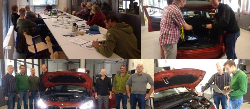 Fortbildung Elektromobilität an der August-Horch-Schule