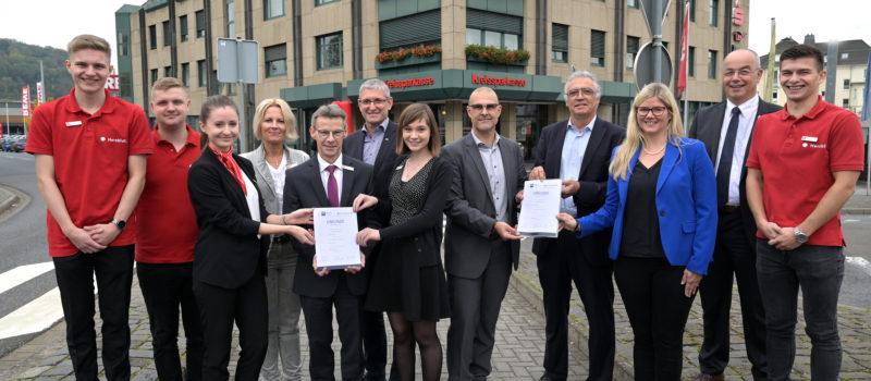 August-Horch-Schule BBS Andernach geht offizielle und nachhaltige Kooperation mit der Kreissparkasse Mayen ein