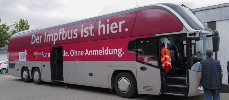 Am 1. Oktober kommt der Impfbus an die August-Horch-Schule